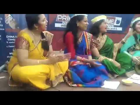 होली पर मेरी  माहिया  प्रस्तुति Holi celebration recording by Sadhna Prime chanel