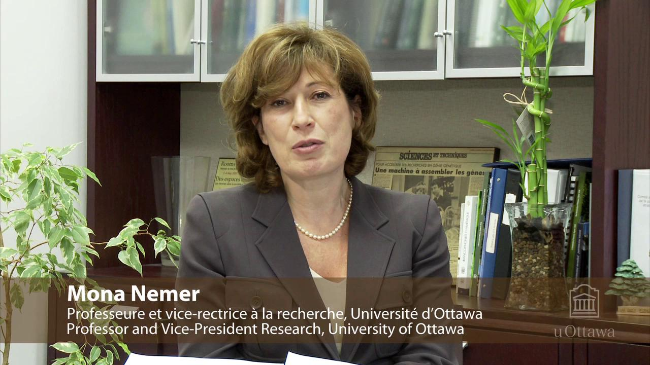 SPARC OAWeek 2010 Guest Mona Nemer, Provost, University of Ottawa