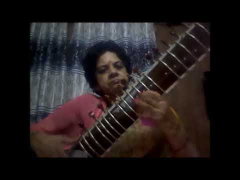 ACHYUTAM KESHAWAM ON SITAR