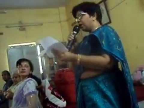 am singing ghazal on mother's day in Akhil bhartiya mahila ashram
