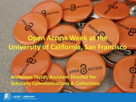 2014 Open Access Week Planning Kickoff Webcast