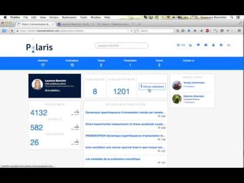 Polaris by MyScienceWork: Open Access Publishing Platform