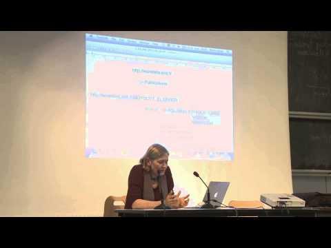 The Cost of Knowledge et le boycott d'Elsvier - Conférence sur le libre accès - Marie Farge