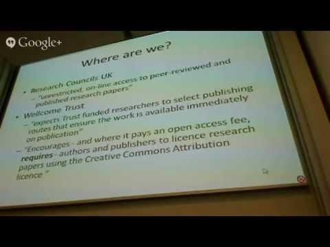 Disruption in the Publishing Industry: Digital, Analytics & the Future - Session One - 20th June 2014