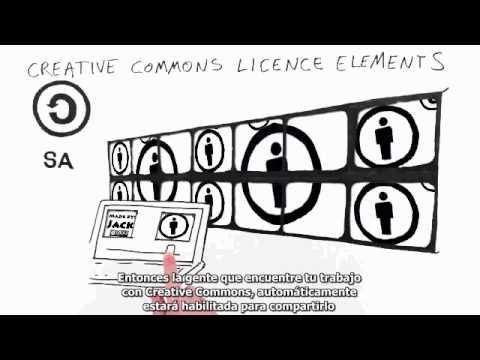 Recorrido por las licencias Creative Commons