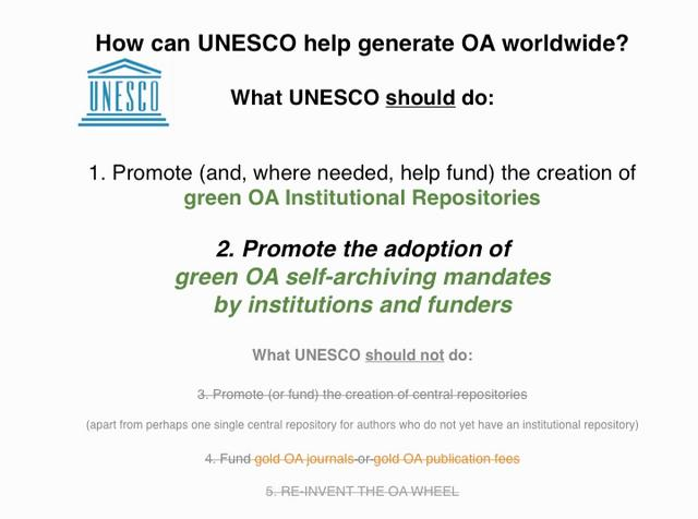 13-minute version of 17-minute UNESCO Open Access Talk