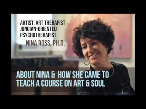 Nina Ross, Ph.D.,  About Teaching Art & Soul Based on Jung's Red Book