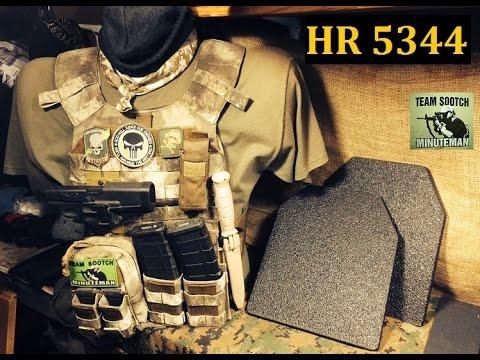 Ban on Body Armor HR 5344