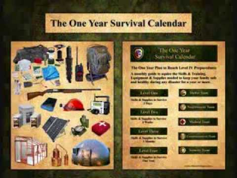 The One Year Survival Calendar