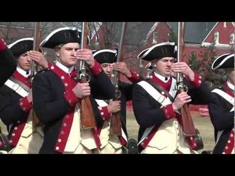 Soldiers Train In Revolutionary War Movements - The Old Guard Third U.S. Infantry Regiment