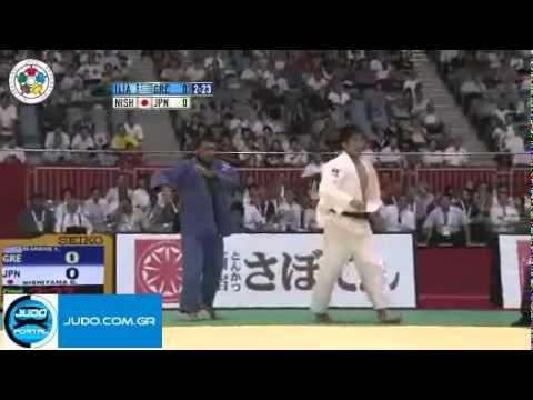 final: World Judo Championships Tokyo 2010 -90kg iliadis (GRE) / Nishiyama (JPN)