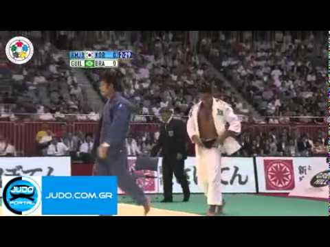 Final: world judo championships tokyo 2010  -81kg jae-bum (kor) / guiheiro (bra)