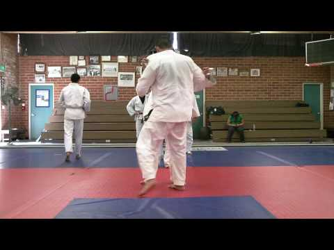 San Fernando Valley Judo Club: Robert Otani's Tai Otoshi (Judo body drop throw) is pretty powerful.
