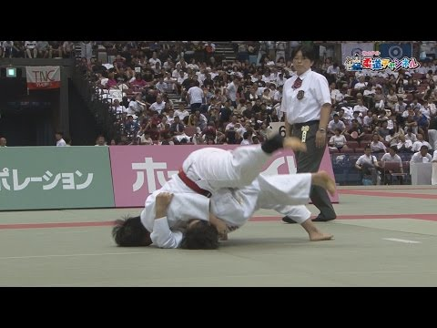 Women's Finals revered high school vs Taisei High School] 2016 fiscal gold eagle flag high school judo tournament