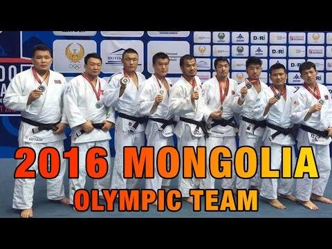 Mongolia 2016 Olympic Judo Team