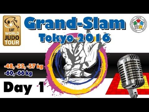 Judo Grand-Slam Tokyo 2016: Day 1