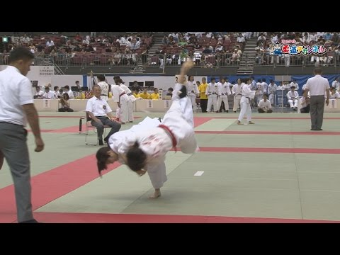 July 22, women's name scene collection] 2016 fiscal gold eagle flag high school judo tournament
