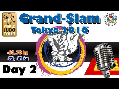 Judo Grand-Slam Tokyo 2016: Day 2