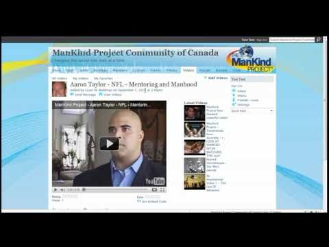 ManKind Project NING Overview 8min