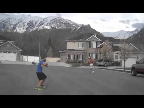 7th Grade QB trick-shot video, Gunnar Legas