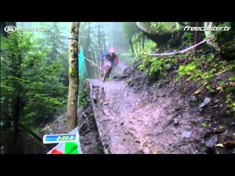 UCI MTB World Championships DHI 2011 Champery Switzerland Danny Hart RUN