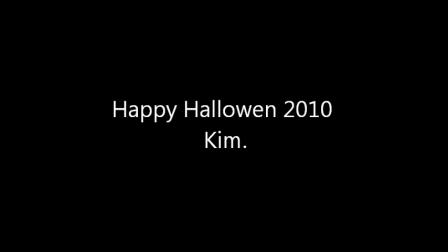 Happy Halloween 2010 to Kim McBride.