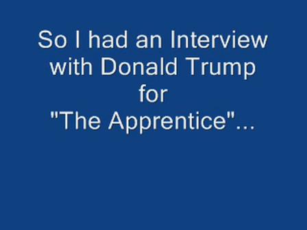 Apprentice Interview