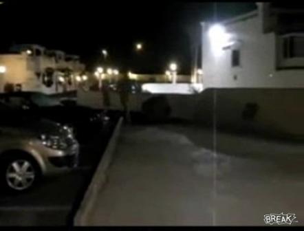 Window Stops Streaker In His TracksVideo