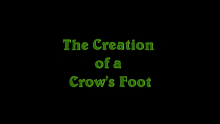 Creation of a Marijuana Crow's Foot