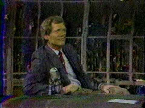 Chris Elliot on Letterman Guy Under The Seats - Fog