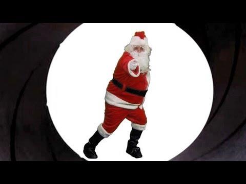 "Santa Claus is James Bond in ""Snowfall"" Trailer"