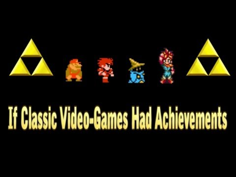 If Classic Video Games Had Achievements