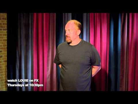 David Lynch scene 2 from episode 311 of LOUIE (FX THURSDAYS 10:30pm EST 9:30 CST)