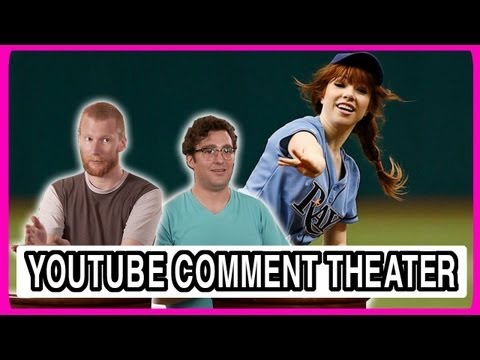 Carly Rae Jepsen Throws Terrible First Pitch - YouTube Comment Theater
