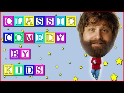Zach Galifianakis Performed by a 6 Year Old