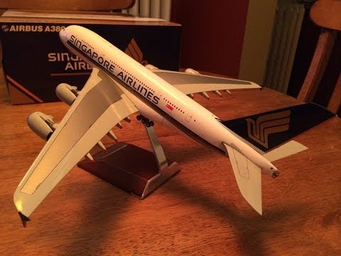 1:200 Singapore Airlines A380