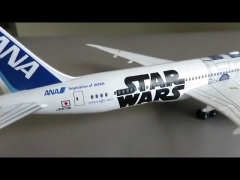 Limited Edition ANA Star Wars R2-D2 Boeing 787-9 Dreamliner