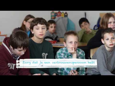 Leerlingen maken spiekvideo over veilig social media gebruik