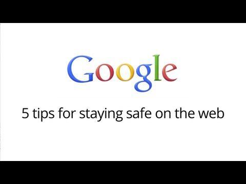 5 tips om veilig op het net te surfen.