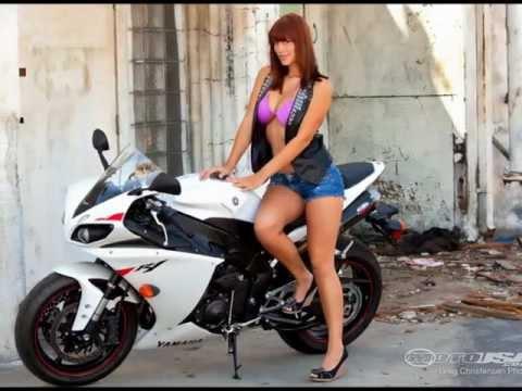 Hot girls & bikes