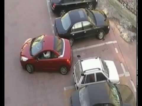 Woman Parking Revenge