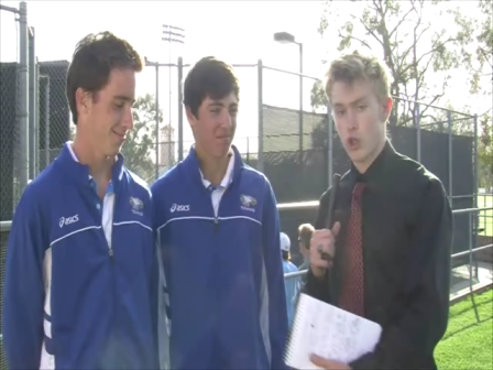 SM boys tennis defeats Cathedral Catholic in doubles