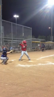 Irvin's pop-up which turned into a base hit