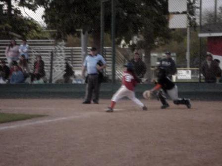 Julie Enzmann's 2nd Home Run in one game