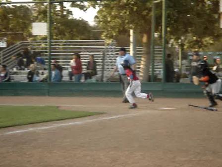 Julie Enzmann's 1st  Home Run