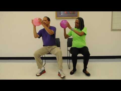 Tai Chi-Qigong for Gait, Balance & Strength: Seated Energy Ball with Footwork