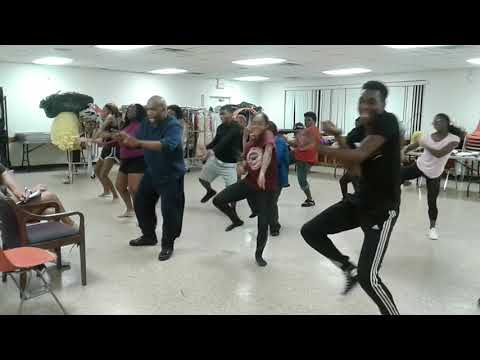 The Family Blessing: Paul Anthony & Jai Hinson's Dance Troupe at Rehearsal