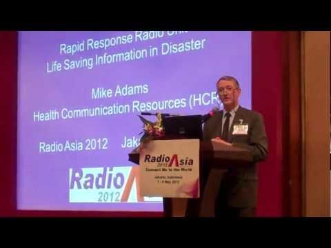 Rapid Response Radio Unit - Life Saving Information in Disaster