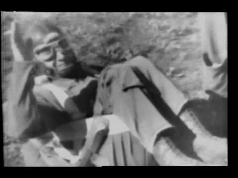 Flying Plane Picks Up Soldiers 1944 Newsreel