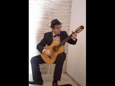 O, ce veste minunată - classical guitar